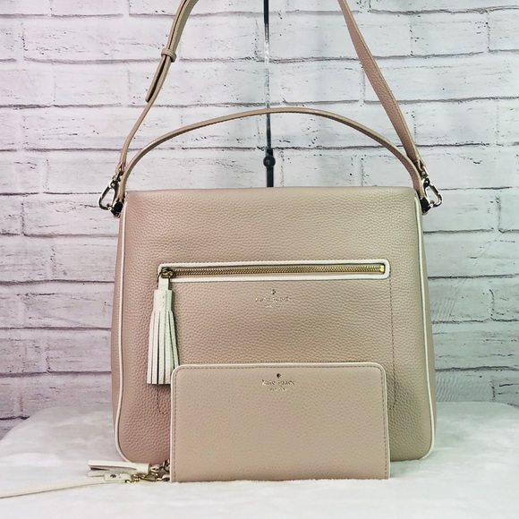kate spade Handbags - 2PCS Kate Spade Michaela Chester Street Bag Wallet